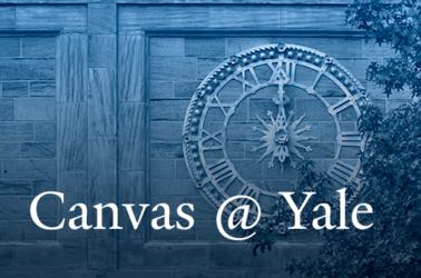 Canvas @ Yale Banner