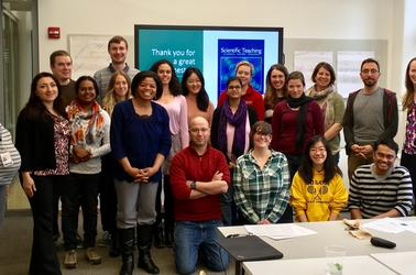 Spring 2018 Scientific Teaching Fellows Course Instructors & Participants